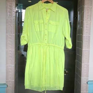Yellow Gap dress - size M